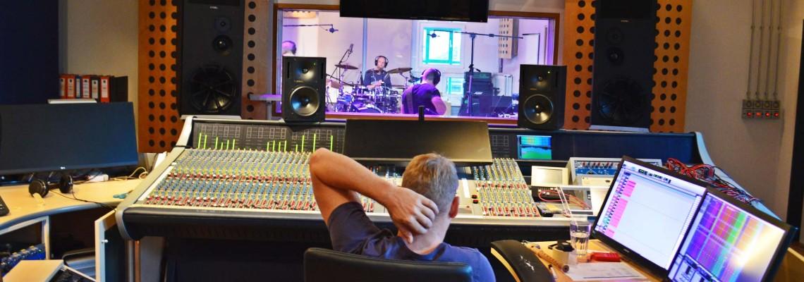 Ab ins Studio!